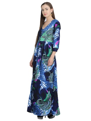 button down paisley pleated dress - 15113279 - Standard Image - 2
