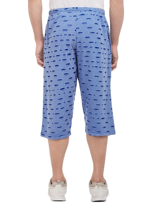 blue cotton three  fourths - 15113874 - Standard Image - 5