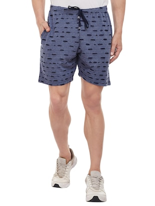 multi colored cotton shorts - 15113900 - Standard Image - 2