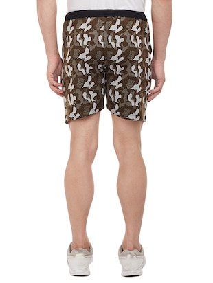 multi colored cotton shorts - 15113900 - Standard Image - 5