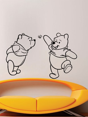Two Cute Pooh Wall Sticker - 15114368 - Standard Image - 2