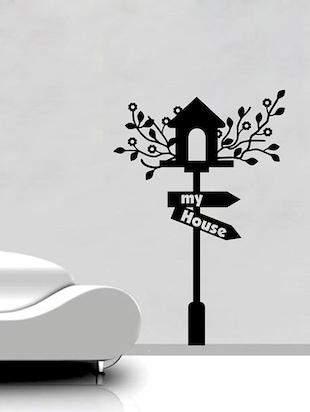 MY HOUSE Wall Sticker - 15114389 - Standard Image - 2