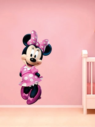 Minnie Mouse Wall Sticker - 15114393 - Standard Image - 2