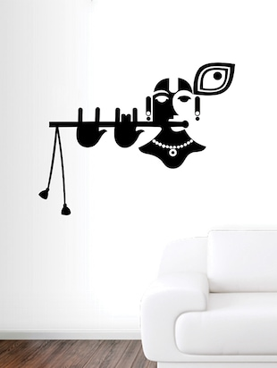 Lord Krishna Wall Sticker - 15114405 - Standard Image - 2