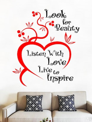 Look for Beauty Wall Sticker - 15114406 - Standard Image - 2