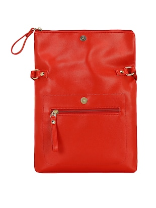 red leatherette  regular sling bag - 15116775 - Standard Image - 2