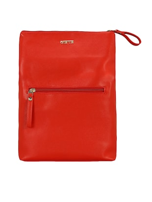 red leatherette  regular sling bag - 15116775 - Standard Image - 5