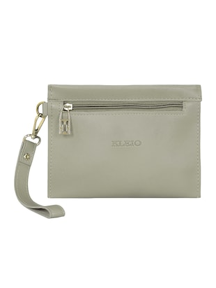 grey leatherette tote - 15117130 - Standard Image - 2
