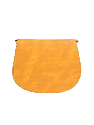 yellow leatherette sling bag - 15121573 - Standard Image - 2