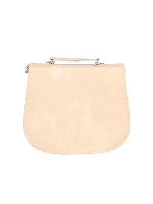 cream leatherette sling bag - 15121580 - Standard Image - 2