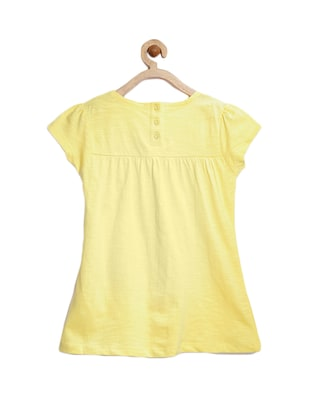yellow cotton top - 15122669 - Standard Image - 2