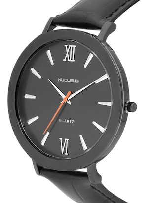 Nucleus Analog Watch for Formal & Casual Wear for Gents NTGBKBKBK - 15156969 - Standard Image - 2