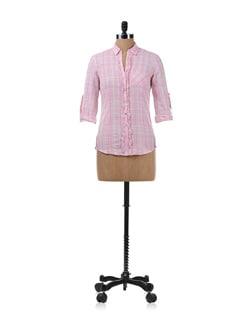 Pink Check Shirt - Chemistry