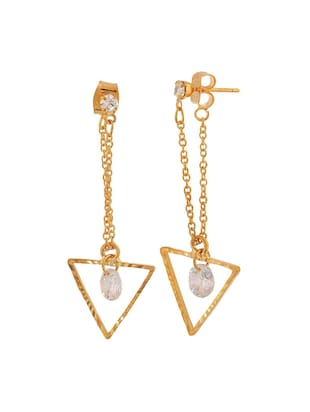Gold Tone Drop Earrings - 15166838 - Standard Image - 2