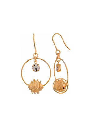Gold Tone Drop Earrings - 15166845 - Standard Image - 2