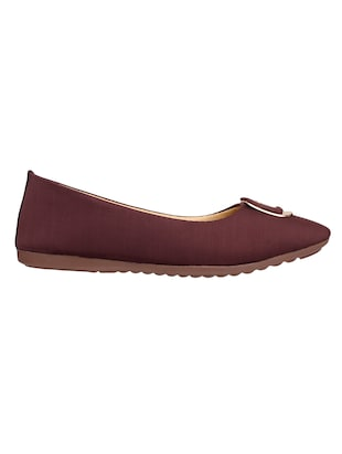 brown slip on ballerina - 15171840 - Standard Image - 2