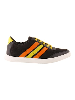 black Suede lace up sneaker - 15173361 - Standard Image - 2