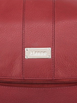 red leather utility bag - 15173774 - Standard Image - 5