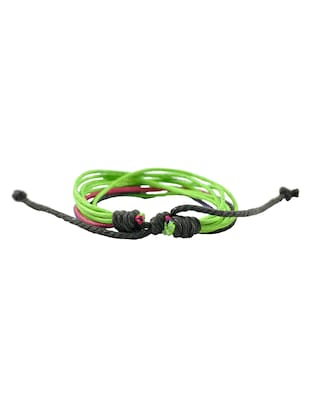 green leather bracelet - 15173779 - Standard Image - 2