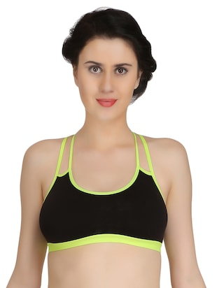 Set of 3 multicolored sports bras - 15175207 - Standard Image - 2