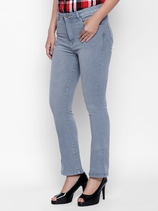 grey denim jeans - 15175401 - Standard Image - 2