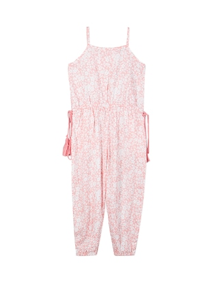 pink rayon full length jumpsuit - 15176710 - Standard Image - 2