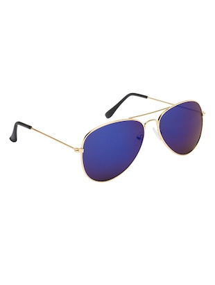 Alee Men Golden Aviator  Sunglass - 15177249 - Standard Image - 2