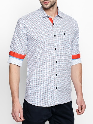 multi cotton casual shirt - 15180291 - Standard Image - 2