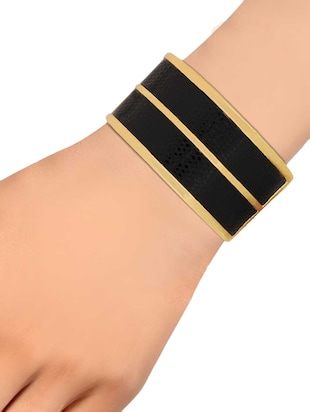 gold brass bangle - 15185801 - Standard Image - 2