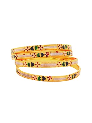 multi brass bangle - 15185834 - Standard Image - 2
