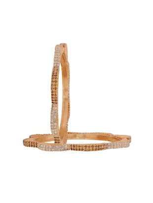 brown brass bangle - 15185953 - Standard Image - 2