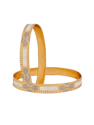 gold brass bangle - 15186347 - Standard Image - 2