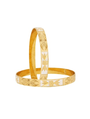 gold brass bangle - 15186383 - Standard Image - 2