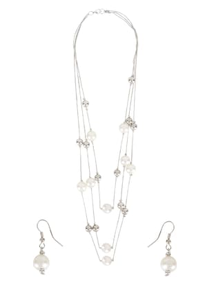 Necklace & earrings - 15187360 - Standard Image - 2