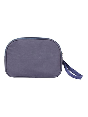 blue leatherette (pu) regular pouch - 15189886 - Standard Image - 2