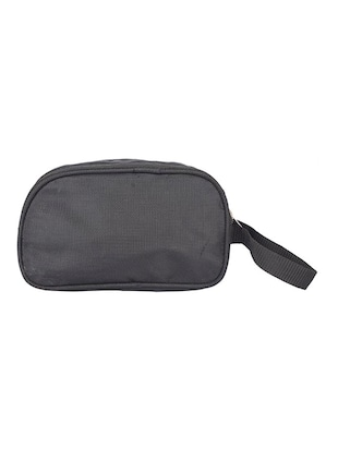 black leatherette (pu) regular pouch - 15189892 - Standard Image - 2