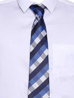 multi colored satin tie - 15190423 - Standard Image - 5