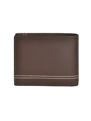 brown leatherette wallet - 15190971 - Standard Image - 2