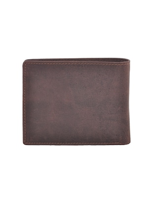 brown leatherette wallet - 15191037 - Standard Image - 2