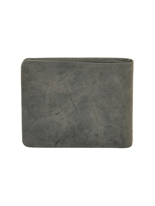 grey leatherette wallet - 15191050 - Standard Image - 2