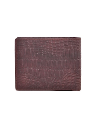 brown leatherette wallet - 15191078 - Standard Image - 2