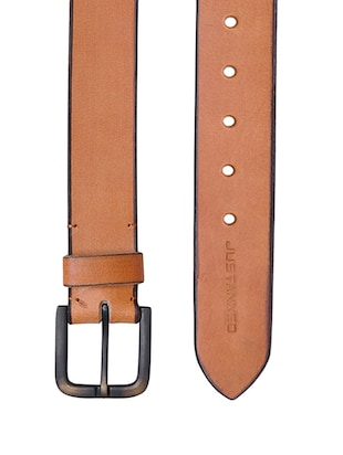 tan leather belt - 15193454 - Standard Image - 2