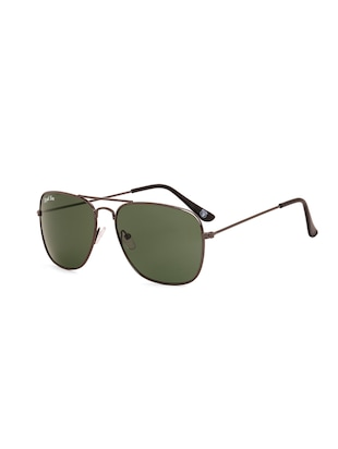 Royal Son UV Protected Caravan Square Sunglasses For Women (RS0030AV|58|Green Lens) - 15221837 - Standard Image - 2