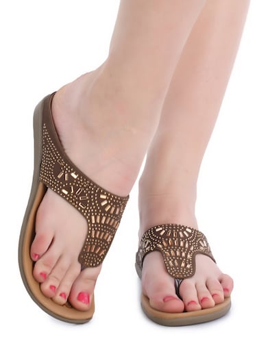 c8f22450e Flat Sandals - Buy Flat Heel Sandals for Women Online in India