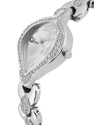Shunya S-312 Silver Stylish Attractive Watch - For Women - 15239354 - Standard Image - 2