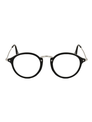 53e0a2dc5 Buy Peter Jones Full Rim Round Unisex Spectacle Frame Db3 48 Black In India  @ Limeroad