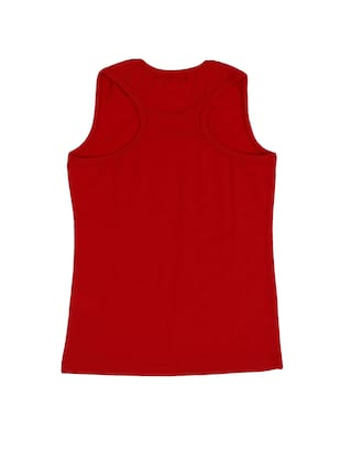 red cotton  top - 15282673 - Standard Image - 2