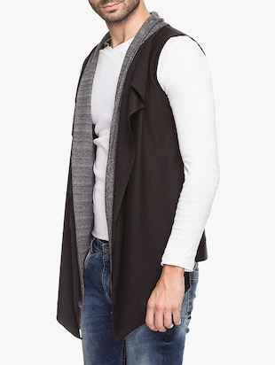 black cotton shrug - 15308204 - Standard Image - 2
