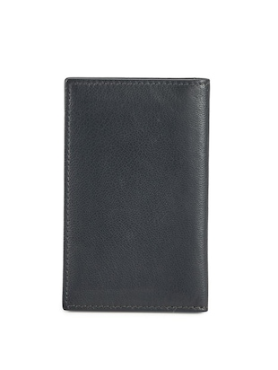 black leather card holder - 15315752 - Standard Image - 2