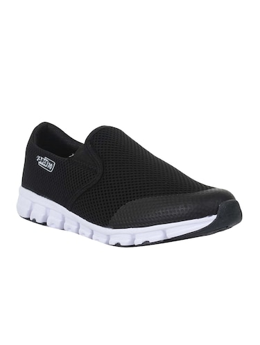 bcd8bf5af Buy Black Mesh Slip On Sport Shoe by Liberty Shoes - Online shopping ...